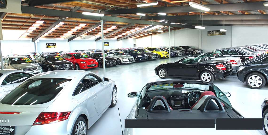Showroom holds 100+ vehicle's
